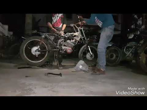 Restoring | Yamaha RX100 | 2yrs old scrapped | Part 1