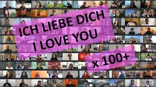Ich liebe dich in mehr als 100 Sprachen / I love you in more than 100 different languages