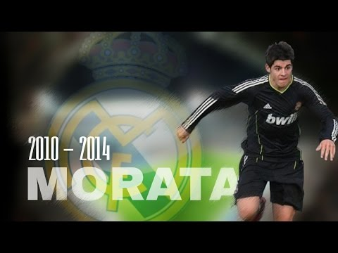 Morata | Best goals for Real Madrid | 2010 - 2014