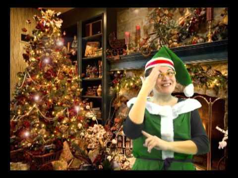 Felicitación de Navidad en Lengua de Signos