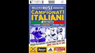 Campionati Italiani Junior 2018 - SEMIFINALI