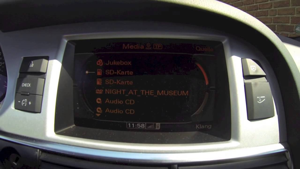 Audi A6 4f Bluetooth Adapter Youtube