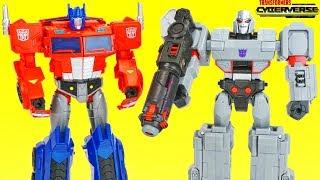 Transformers Cyberverse Collection Ultimate Class Optimus Prime Matrix Megatron Fusion Cannon