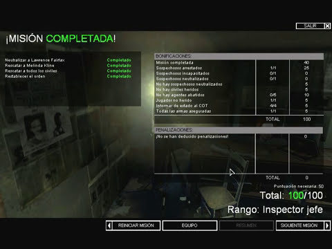 SWAT 4 - Mission 2 - Residencia Fairfax - Español 2013