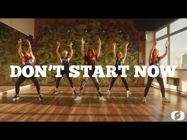 DON'T START NOW by Dua Lipa | SALSATION®️ Dynamic Warm Up by SMT Julia