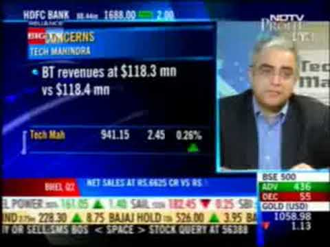 (Part 1/2) Sanjay Kalra, CEO, Tech Mahindra on NDTV Profit Power Lunch