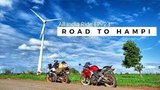 Heavenly Road to Hampi Via Sirsi  -  Bankapur - Hospet | Jannat |