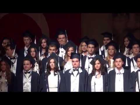 Bodrum Marmara Koleji Lise Mezuniyet Töreni Giriş