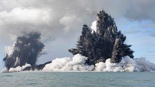 Underwater Volcano Eruption