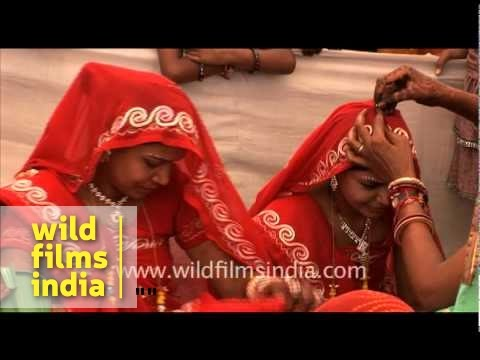 Young Child Bride Falters And Falls... video