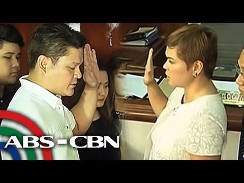 TV Patrol: Inday Sara at Paolo Duterte, nanumpa na sa Davao City