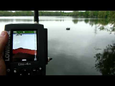 Lowrance X4 und Elite 4X Farbecholot wireless im Carplounge RT4 Baitboat mit Graupner MX12 Music Videos