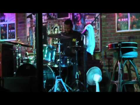 Little John Rogers soloing with Ike Stubblefield and Friends Bamboo Room 2/11/12, pt 2