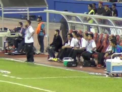 TMJ bersama JOHOR Fans @ Larkin Stadium, Johor Bahru # JDT # Johor FA