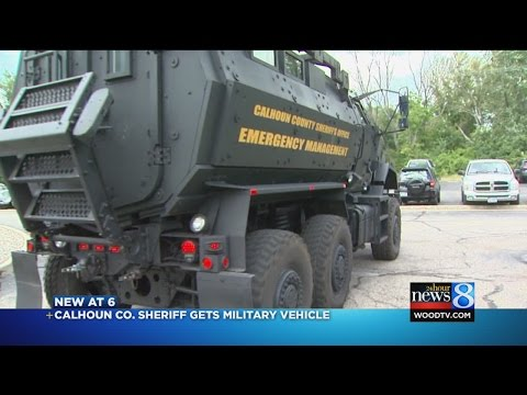 ... Office Receives Military Surplus Armored Vehicle - Worldnews.com