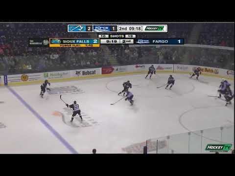Кирилл Панюков отметился передачей за Sioux Falls Stampede в USHL
