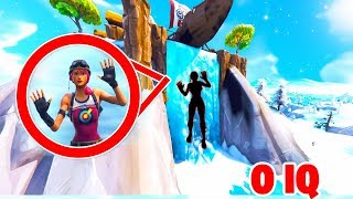 Dummer Sucher IQ=0 in Fortnite Hide and Seek!