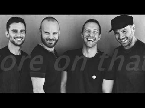 COLDPLAY - EVERGLOW with lyrics
