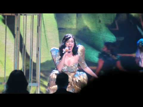X Factor Live Final - Katy Perry singing 'Unconditionally'