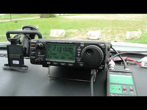 Icom 703+ QRP with 5 watts