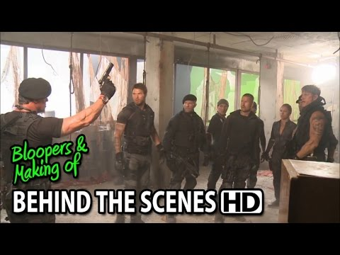 The Expendables 3 (2014) Making Of & Behind The Scenes video