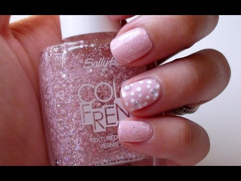 Summer Nail Art Tutorial | Pink & Girly