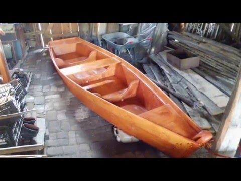 складную лодку из досок