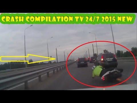 Road Rage & Car Crashes  Compilation Motorcycle Crash By Car Crash DAILY  ★★★★★ Full HD