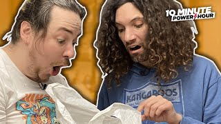 Unpacking our show in OUR NEW OFFICE - 10 Minute Power Hour