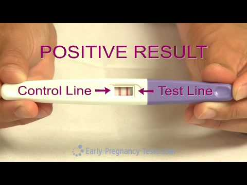 Pregnancy Test Midstream Demo