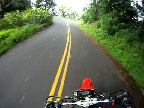 Tantalus on Yamaha WR250X with go pro hd