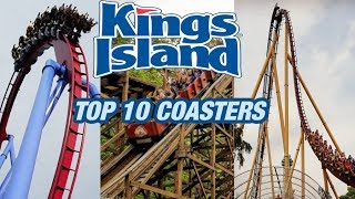 TOP 10 Roller Coasters at Kings Island! (2017)