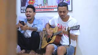 SYAHRIL feat Anjhaz COVER SONG SLANK. MAAFKANLAH
