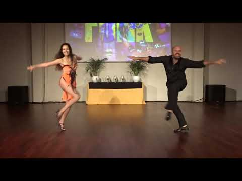 ZNL2018 Olaya & Gabriel in performance ~ Zouk Soul