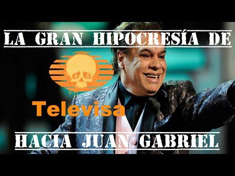 La gran hipocresía de Televisa hacia Juan Gabriel