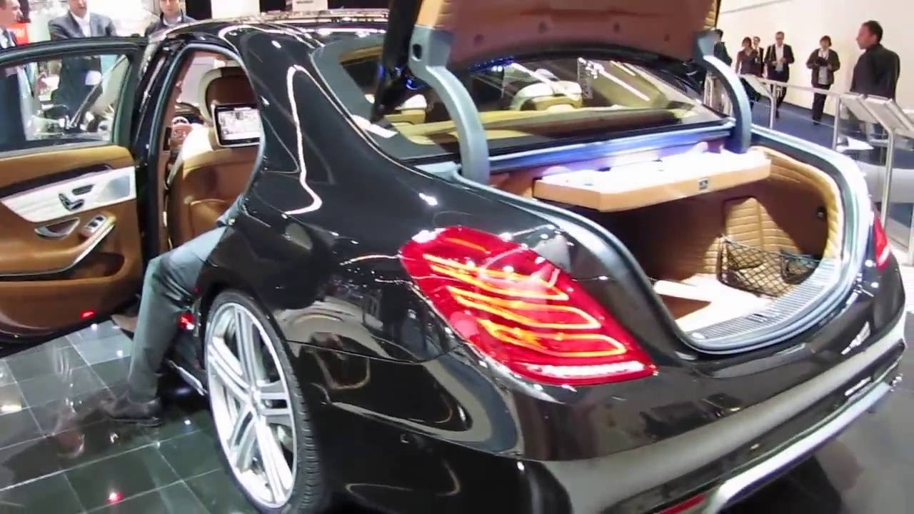Mercedes-Benz S63 AMG - Brabus Tuning - YouTube