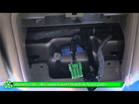 How to replace / change a Map Dome Light for a 04 05 06 07 08 Acura TL REPLACEMENT REPLACE DIY