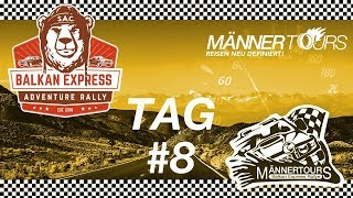 Balkan Express Rally Tag #8 Albanien CrashParty
