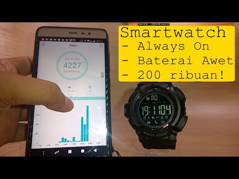 Review SKMEI 1245 – SmartWatch Always On dibawah 200 Ribu