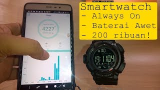Review SKMEI 1245 – SmartWatch Always On Baterai Awet / Tahan Lama