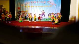 Hội thi bé hát dân ca trường mầm non Thành Hưng, huyện Thạch Thành năm 2017