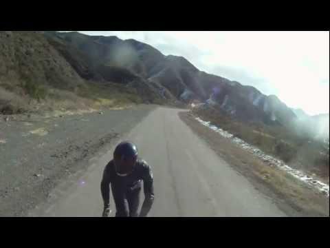 Longboard Argentina downhill Villavicencio MZA