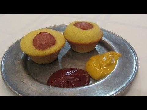 Mini Corn Dog Muffins -- Lynn's Recipes