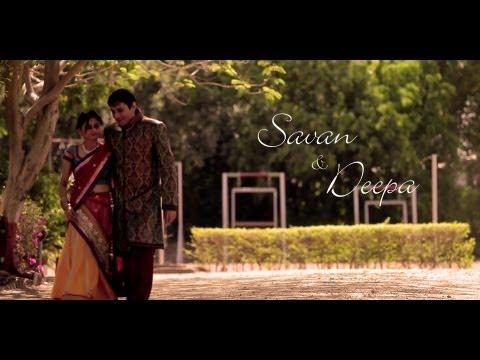 Savan ♥ Deepa Teasar Best INDIAN HINDU Wedding Ever 1080 HD RAJKOT Gujarat