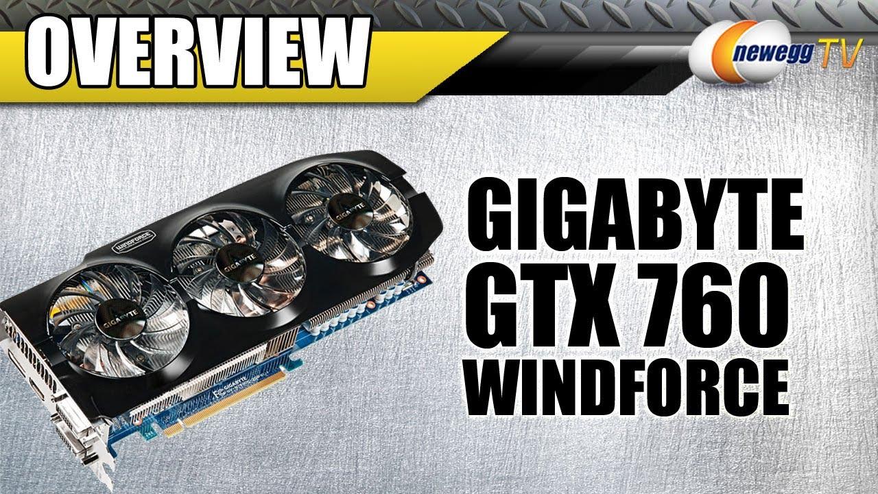 Gigabyte Gtx 760 Gddr5-4gb Gigabyte Geforce Gtx 760