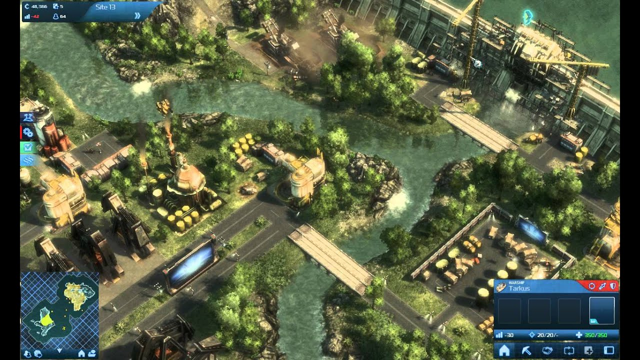 Anno 2070 gameplay chapter 1 mission 1 the two year for Anno 2070 find architect