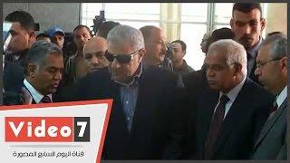 بالفيديو .. محلب يفتتح المتحف القومى للحضارة المصرية بالفسطاط