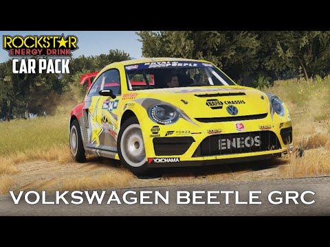 Forza Horizon 2 - 2014 Volkswagen Beetle GRC Gameplay - Rockstar Energy Drink Car Pack