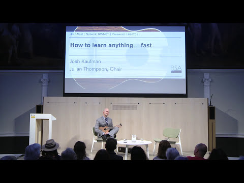 How to Learn Anything... Fast - Josh Kaufman