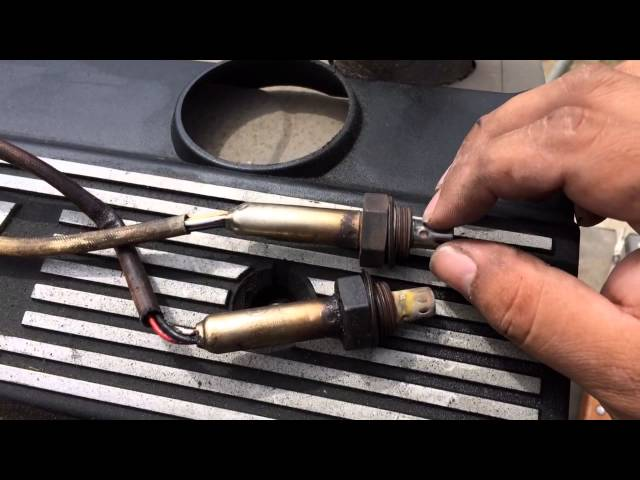 HOW TO Clean O2 Sensors BMW 5 Series 3 Series ... - YouTube